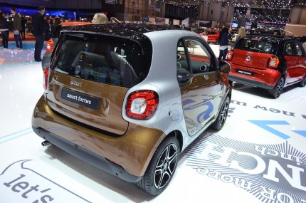 © MotorNews kw / 85. Auto-Salon Genf 2015 / smart fortwo