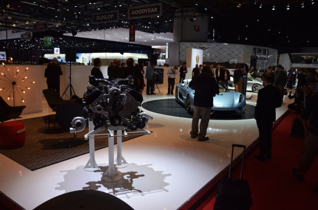 © MotorNews kw / 85. Auto-Salon Genf 2015 / Koenigsegg Messestand