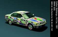 © BMW AG / Esther Mahlangu, Art Car, 1991 - BMW 525i