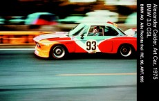© BMW AG / Alexander Calder, Art Car, 1975 - BMW 3.0 CSL