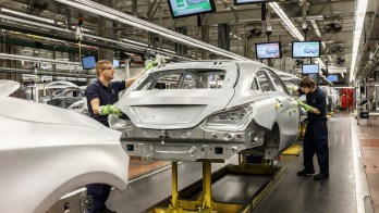 © Daimler AG / Mercedes-Benz investiert 580 Millionen Euro in das Werk Kecskemét / Produktion CLA Shooting Brake, Rohbau CLA Shooting Brake production, body shop