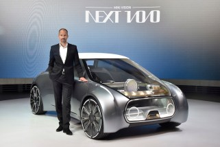 © BMW Group / Der MINI VISION NEXT 100