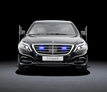 Mukesh Ambani Acquires Armoured Mercedes Benz S Class