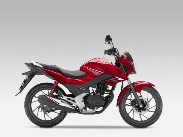 New 2015 Honda CB125F Official Images 4
