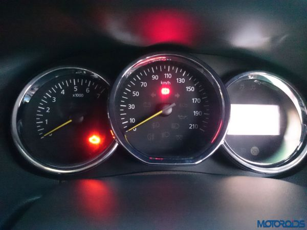New 2016 Renault Duster instrument cluster(5)