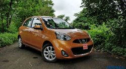 Nissan Micra MC CVT front three quarter