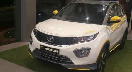 Custom Tata Nexon CSK Edition Arrives At Dealership, Your's For 75K