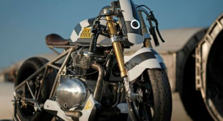One-Off Royal Enfield LockStock Custom Motorcycle Unveiled