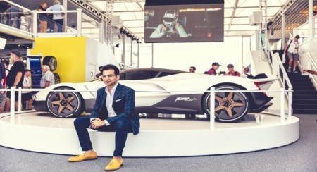 Chunky Vazirani to Unveil India's First Hyper Car on 26th September