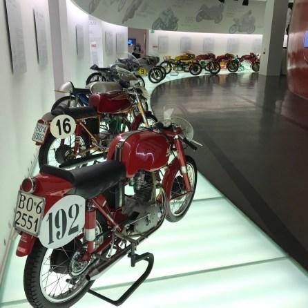 Muzeul Ducati poza din 2017