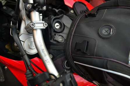 Mesajul de pe ghidonul motocicletei