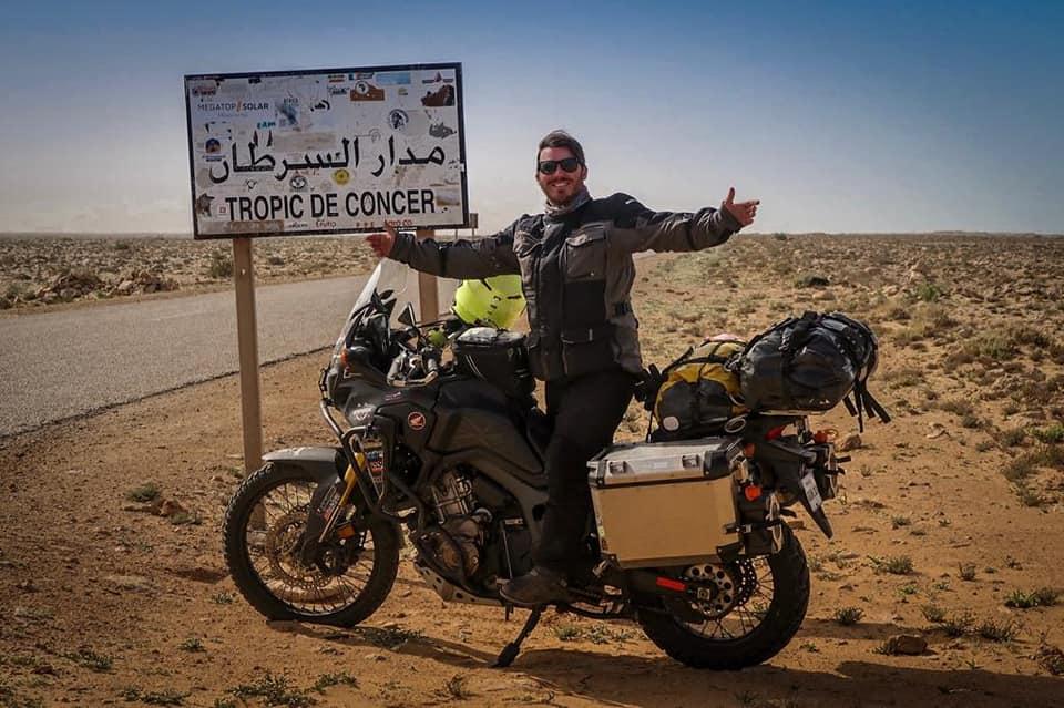 [Jurnal de călătorie] Cristian Huidobro și Africa Twin-ul său, o poveste de dragoste de +138.000km