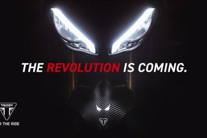 [motoȘtiri] Triumph pregătește un nou Speed Triple RS cu motor de 1200