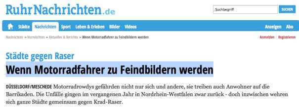 Ruhrnachrichten berichten.