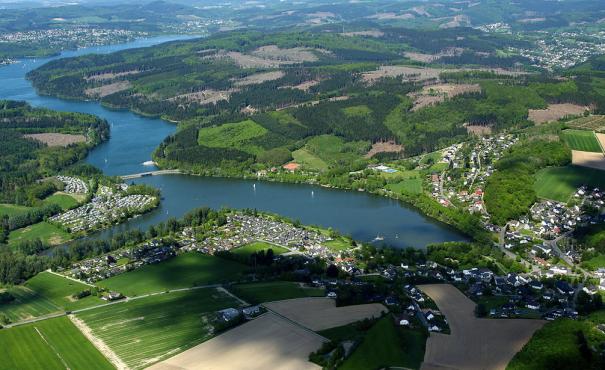 Verlärmtes Urlaubsparadies im Sauerland: der Sorpesee. Foto: Dr. G. Schmitz
