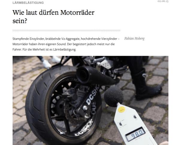 """Clipping aus der """"Welt"""" online vom 2.6.2015"""