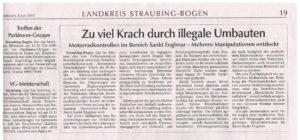 30 Prozent beanstandet: Polizei in Bayern kontrolliert.
