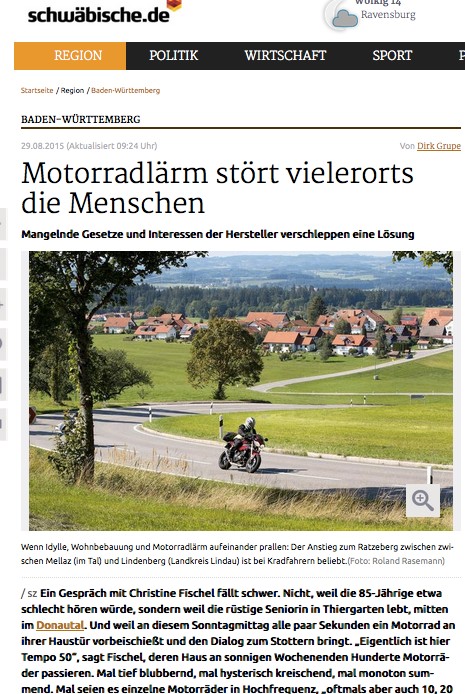 Schwäbische Zeitung berichtet.
