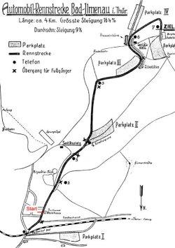 1913-1926 Länge: 3,3 km Start am Waldhaus