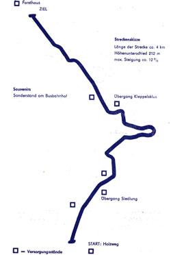 1976-1977 Länge: 4 km