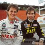 Michael Schumacher und Heinz-Harald Frentzen, Foto Günther Schäfer