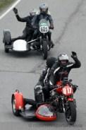 Rüdiger und Miriam Buch (Moto Guzzi), Peter und Stefan Bruhn (BMW)