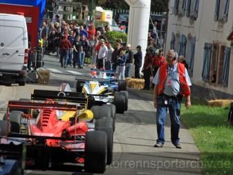 Rückführung der Formel 3