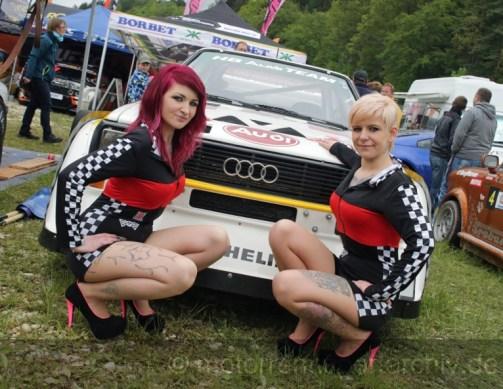 Der Audi S1 Sport Quattro von Eberhard Fuchs war nicht der einzige Augenschmaus