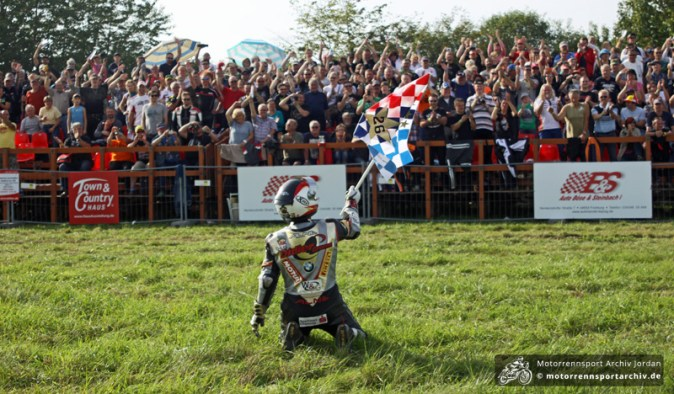 Didier Grams - IRRC-Superbike-Champion 2014