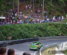 Den ersten E-Mobil-Berg-Cup am Iberg sicherte sich Holger Maes im BMW i3.