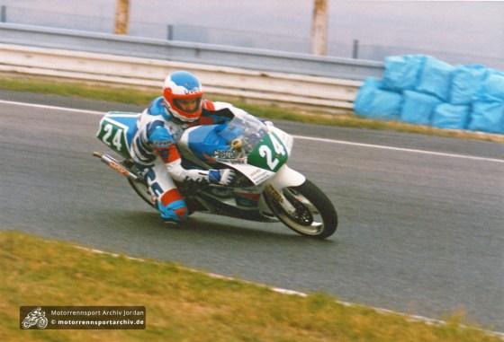 Sachsenringrennen Most 1992, 250ccm, #24 ?