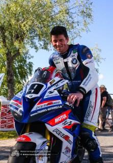 Dan Kneen konnte das OPEN-Superbike-Rennen für sich entscheiden.