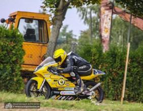 Pech für Gary Dunlop: Er fiel im ersten Lauf mit technischen Problemen aus und konnte am zweiten Rennen der Zweitakt Trophy nicht teilnehmen.