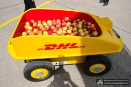 Heute bringt DHL Äpfel, morgen vielleicht schon Pakete per effiBOT