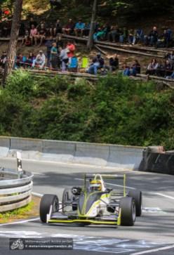 Überraschend schnell: Christian Triebstein im Dallara F302
