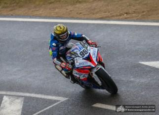 Danny Webb siegte je einmal in der IRRC Superbike und der IRRC Supersport.