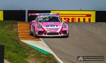 Thomas Preining gewann das Rennen des Porsche Carrera Cups souverän