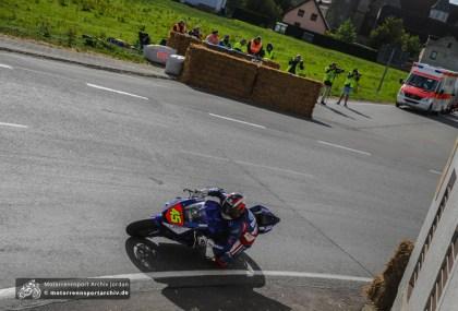 Zum ersten Mal in Frohburg und gleich in der ersten Startreihe der IRRC-Supersport: Langstrecken-Weltmeister Matthieu Lagrive