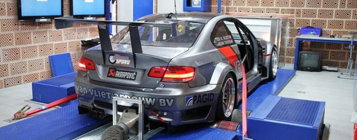 BMW M3 E92 auf dem Prüfstand