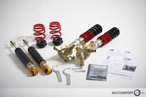 Komplettes BMW E30 Gewindefahrwerk von H&R Spezialfedern