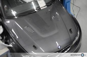 BMW 1er Motorhaube GFK