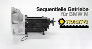 Tractive Sequentielles Getriebe für BMW M3