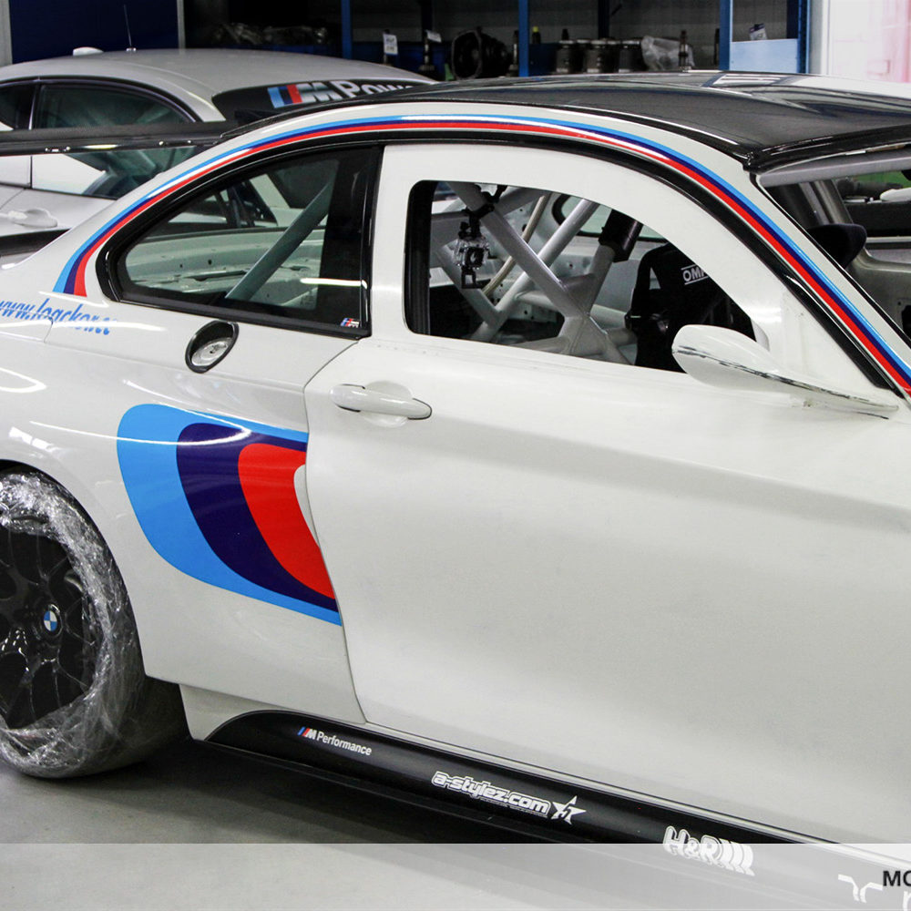 BMW M235i Racing Tur Carbon GT2 Spiegel