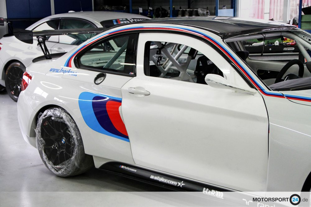 BMW M235i Racing Tür Carbon GT2 Spiegel
