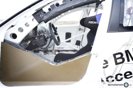 BMW 320i WTCC Cockpit