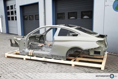 BMW M4 F82 Karosse für GTR Umbau