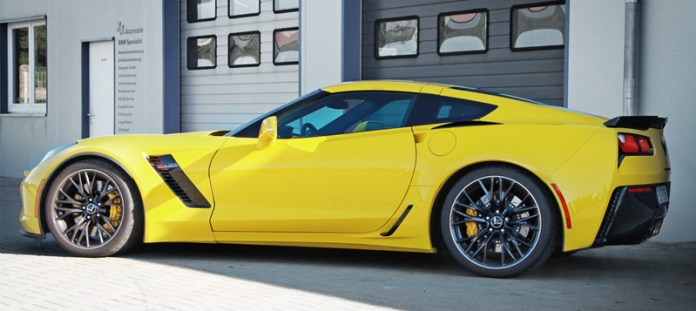 Corvette Race Radiators