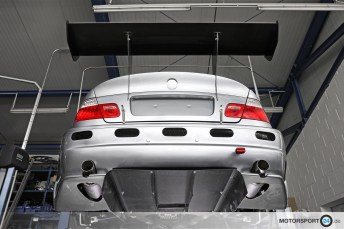 Universeller Heckdiffuser Carbon M3 E46 GTR