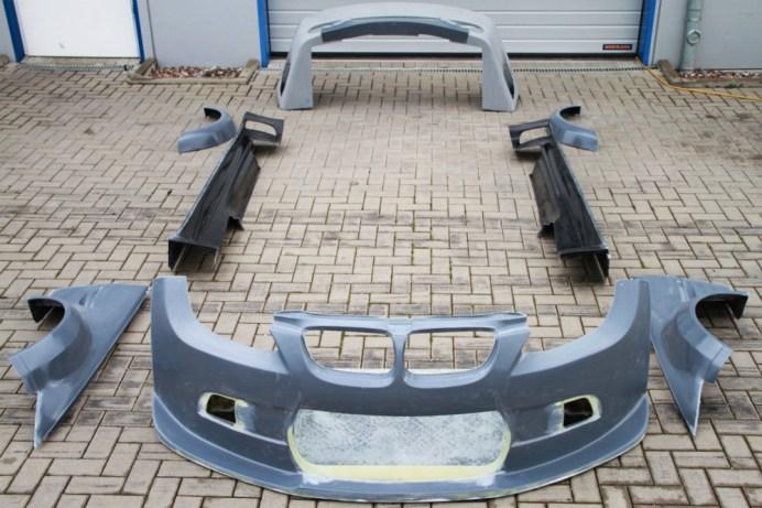 Kompletter Bodykit BMW M3 E92 GTR GT2 Carbon