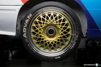 Zentralverschluss Gruppe A Felge BMW M3 E30